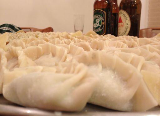 BBQ pork & kimchi dumpling