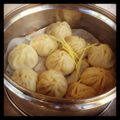 Crab soup dumplings