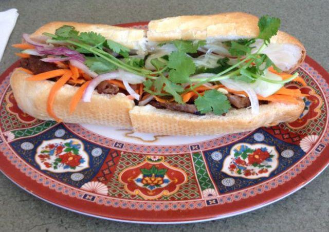 Banh Mi Saigon - Banh Mi Sandwich