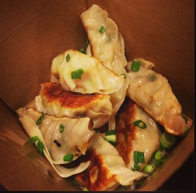Box of Pork and Cabbage Pot Stickers
