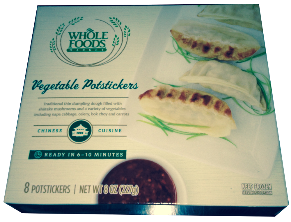 Whole Foods Edamame Potstickers