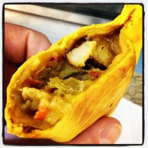 Shiitake Empanada