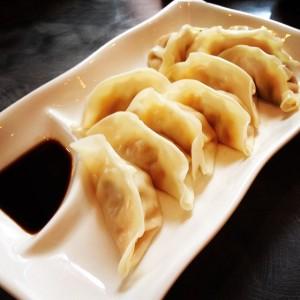 Steamed Kimchi Dumplings