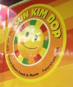 Sum Kim Bop food truck logo