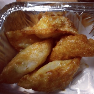 Fried shrimp dumplings