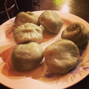Veggie Dumplings/Sauce delivery system