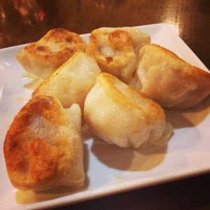 New Big Wong's fried pork dumplings