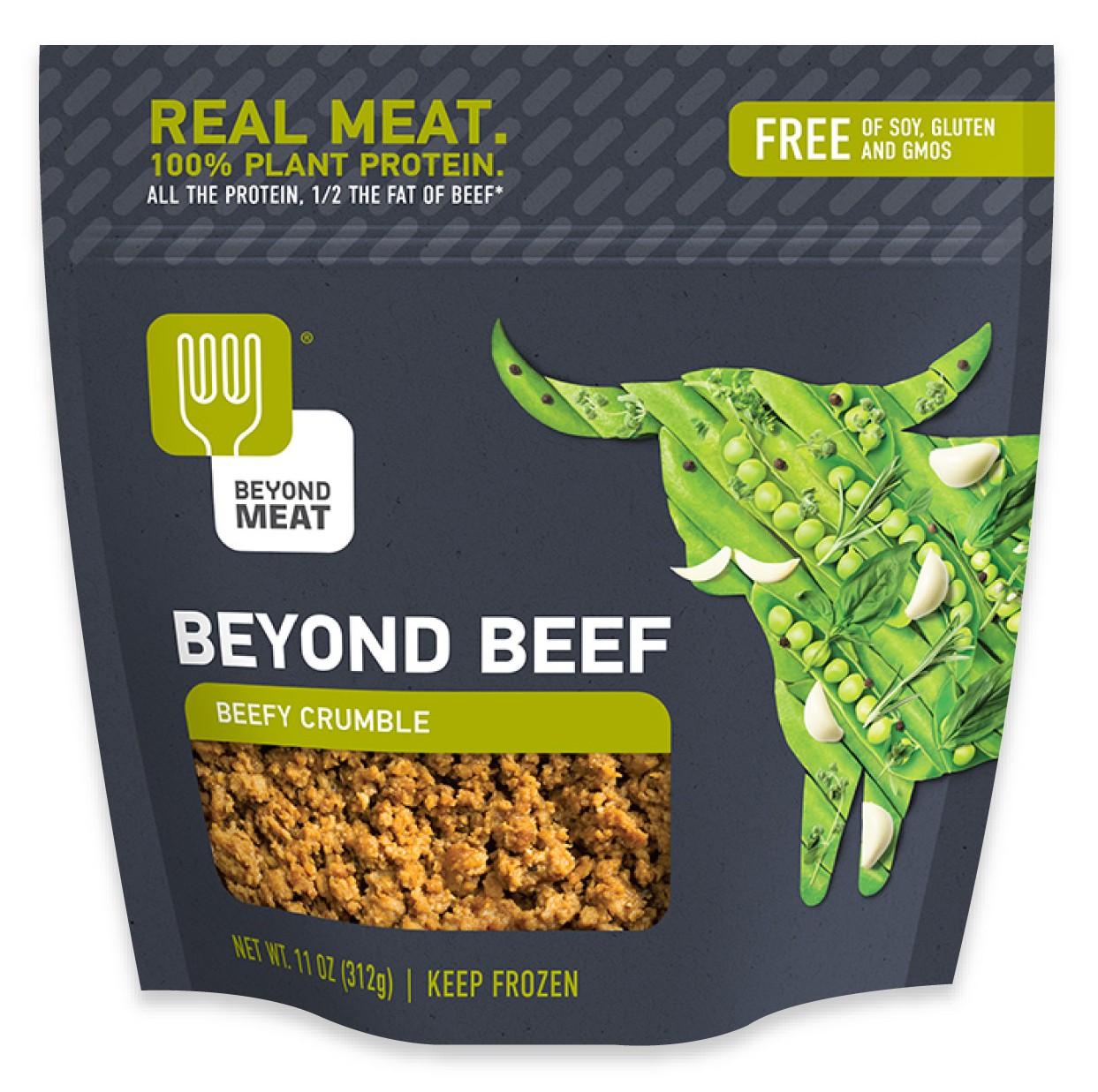 Vegan Ground Beef: Beyond Meat Vegan Beef With Ginger And Onion Dumplings