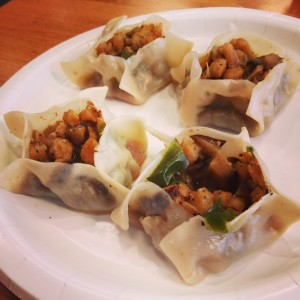 Black Pepper Fish Dumpling