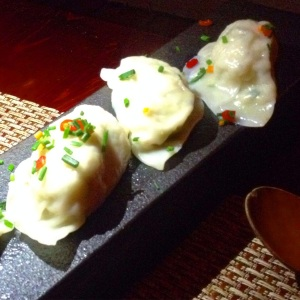 Steamed Tofu Dumplings