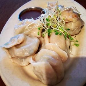 Peacefood Cafe's Shanghai Style Dumplings