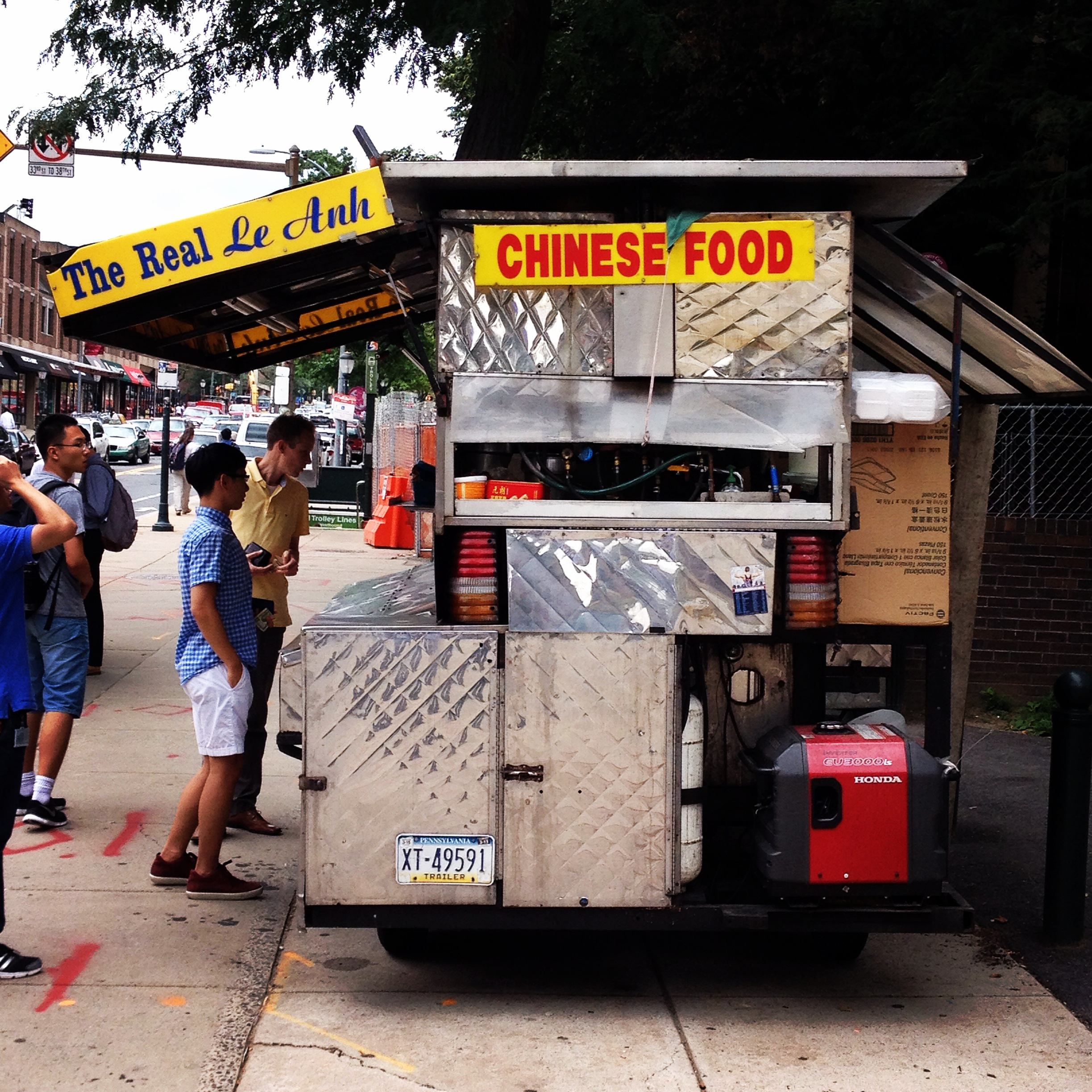 Chinese Food 10024: The Real Le Anh Chinese Food Cart, Philadelphia, PA