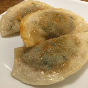 Fried Pork and Vegetable Dumplings