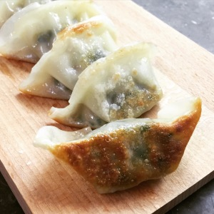 Pan fried Wang Food's Leek Dumplings