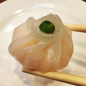 A shrimp ball at China Pearl