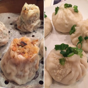 Shanghai Shu Mai and Shanghai Pan-Fried Pork Buns