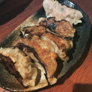 Housemade pork gyoza