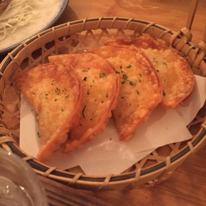 Dumpling of the Day at Izakaya Restaurant