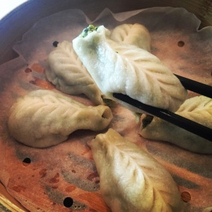 Steamed Vegetable Dumplings