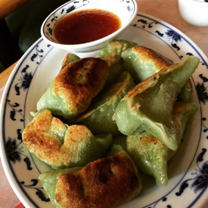 Pan-fried vegetable dumpling
