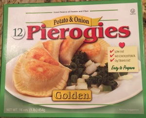 Golden Pierogies