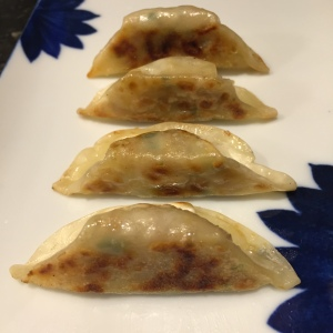 Pan fried Yissine Vegetable Korean Dumplings