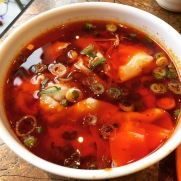 Spicy and Numbing Wontons