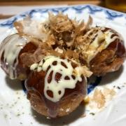 Small order of takoyaki.