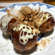 Small order of takoyaki.