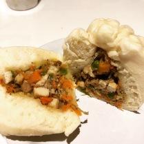 Veggie steamed bun