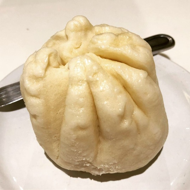 Giant veggie steamed buns