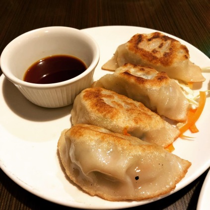 Veggie pot stickers