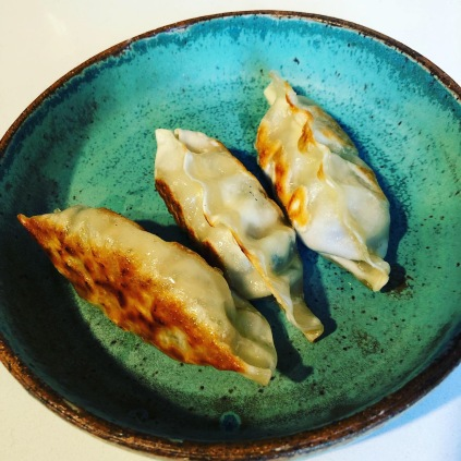 Ceramic tapas plate by Dumpling Hunter