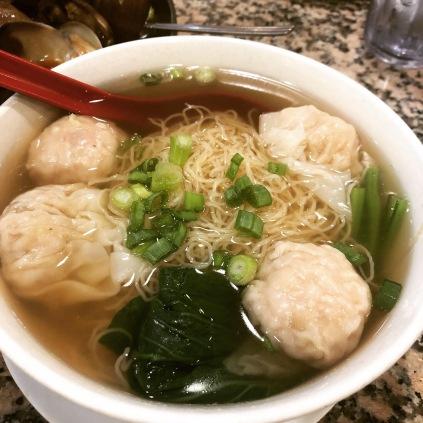 Pork Wonton and Noodle Soup