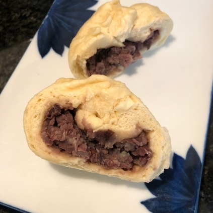 Steamed Red Bean Bao